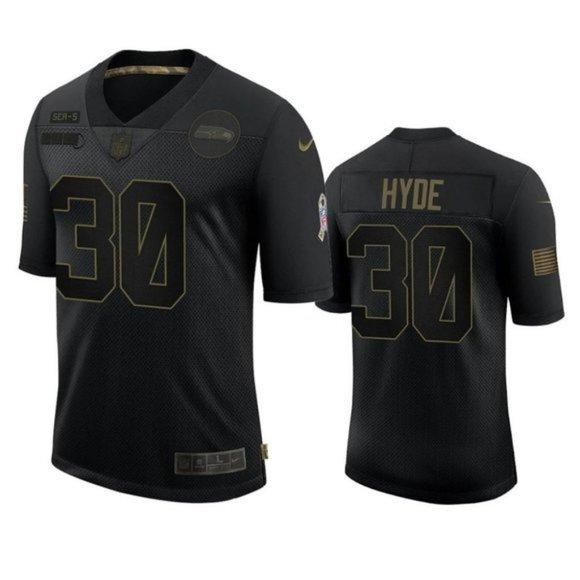 Seattle Seahawks Carlos Hyde Jersey